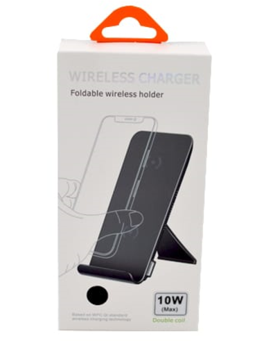 Wireless Stand Charger Qi W5 black