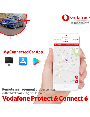 Vodafone Protect & Connect Voertuigvolgsysteem